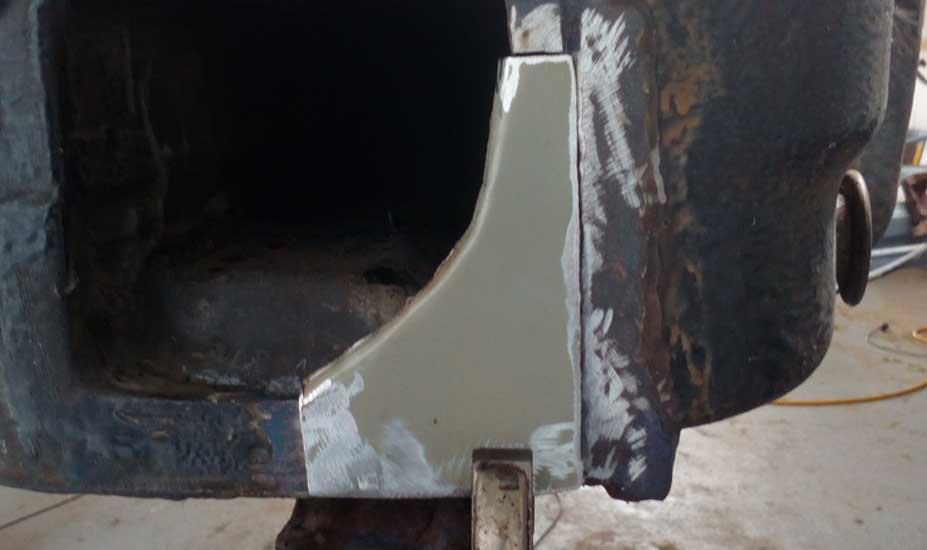 Fabricating old car repair