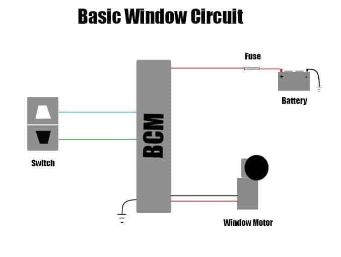 Window control circuit