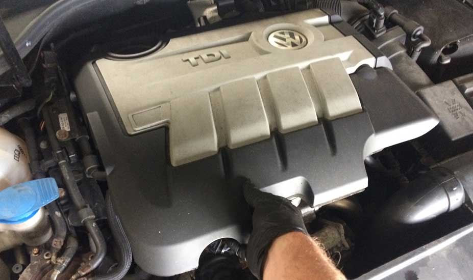 VW engine cover