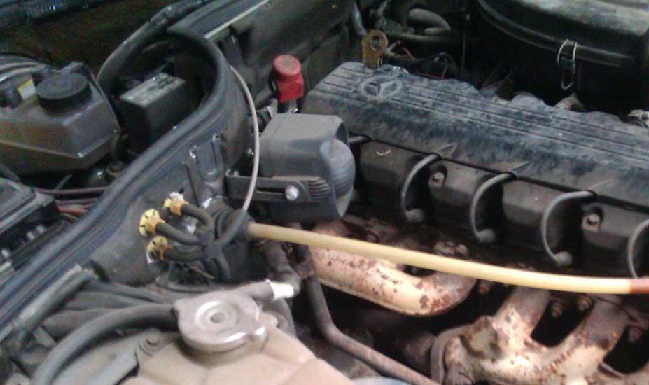 Old Mercedes engine