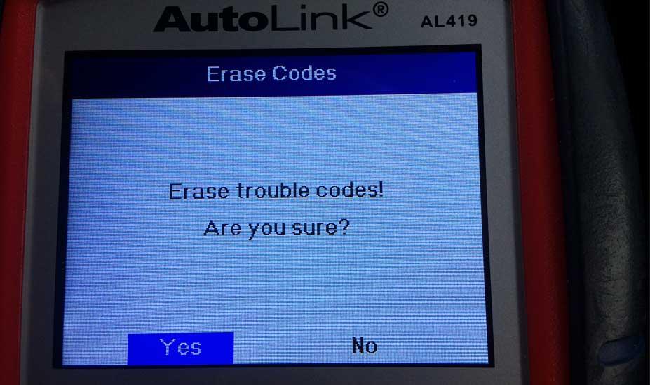 OBD 2 fault code reader