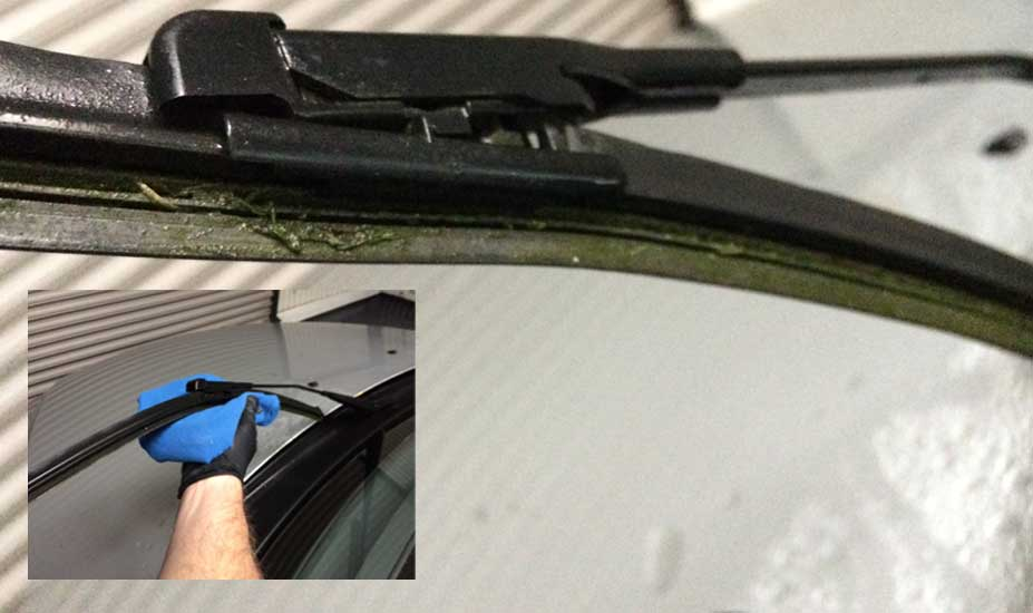 Wiper Blade cleaning