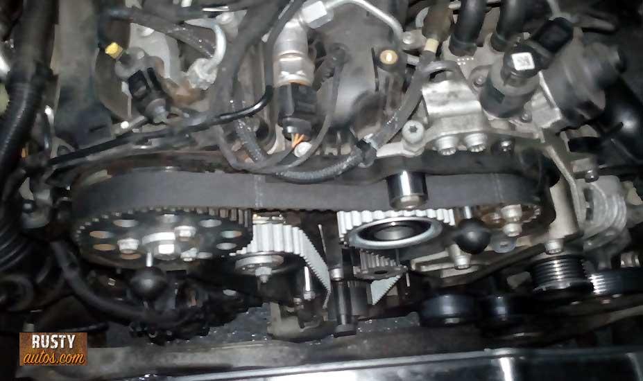 Engine stripping