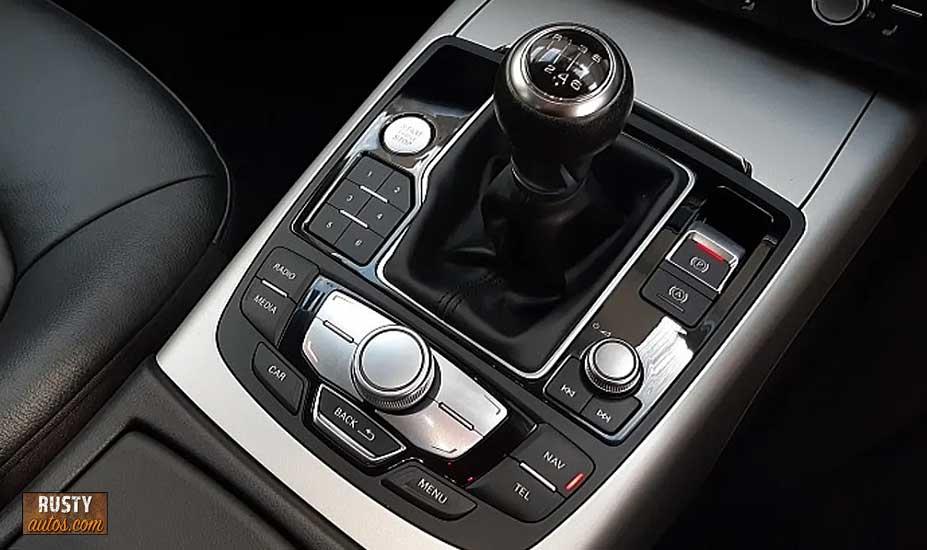 Audi shifter