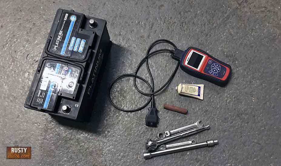 Battery changing tools
