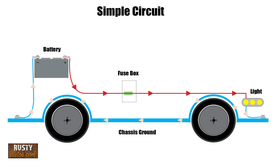 Simple wiring circuit