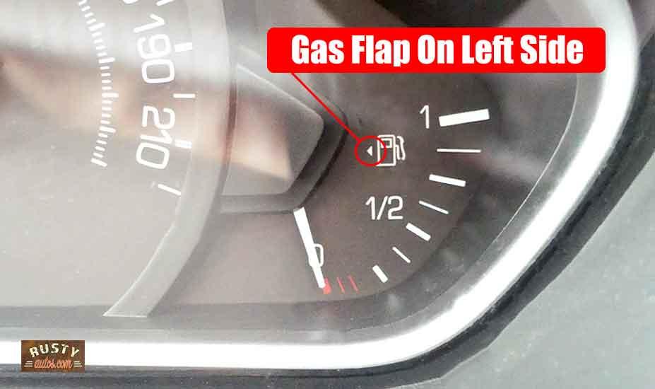 Gas fill side