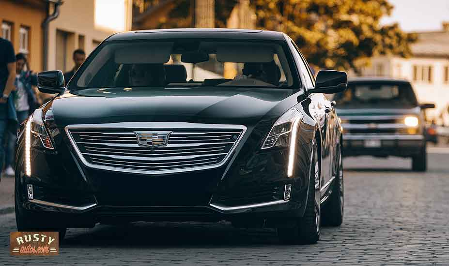 Cadillac on street