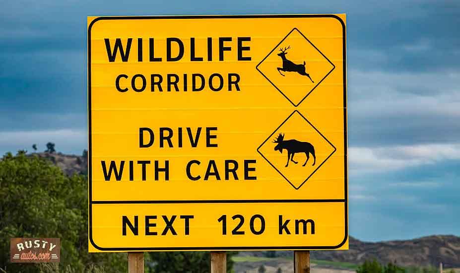Canada road signs