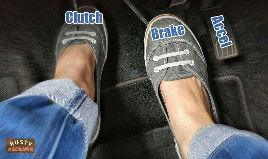 Learning the car pedals