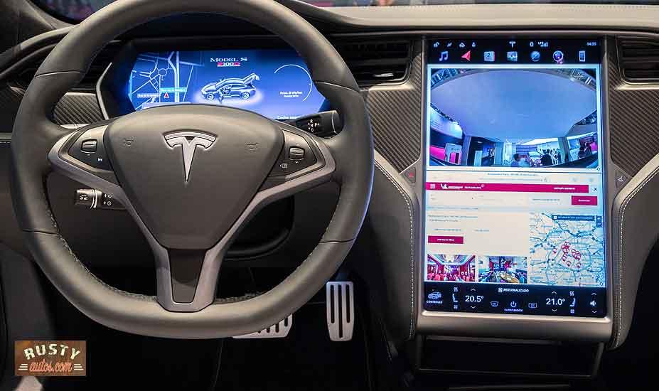 Tesla Info center
