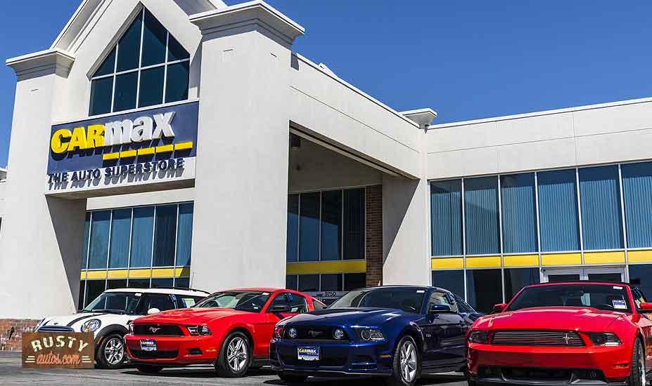 CarMax car lot