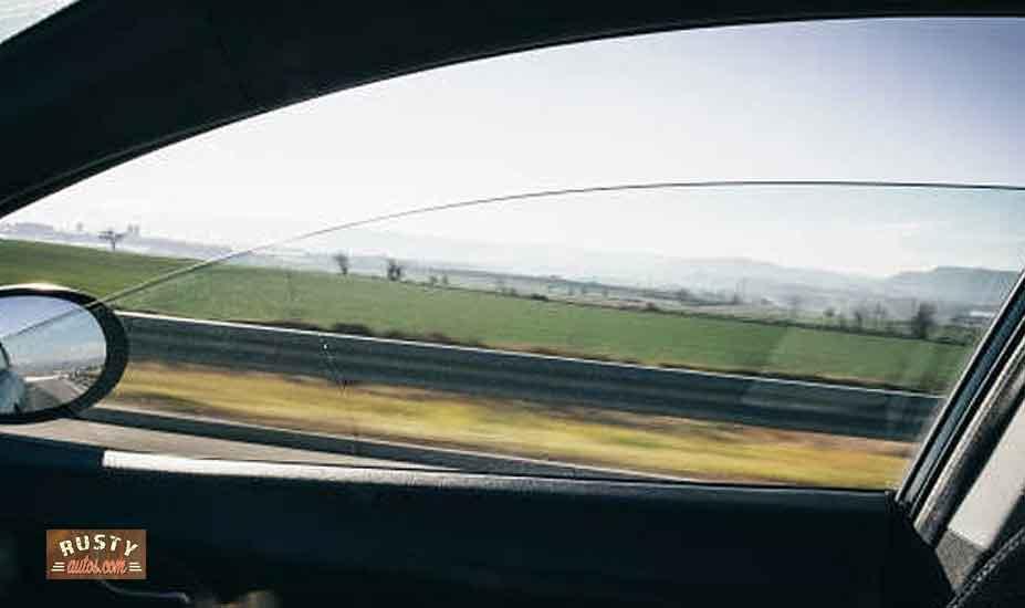 Car window open