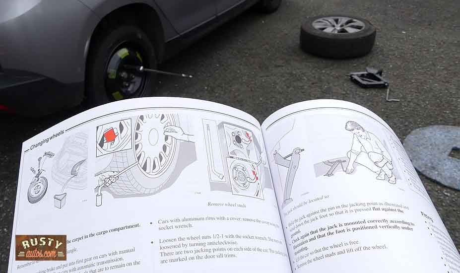 Checking drivers manual