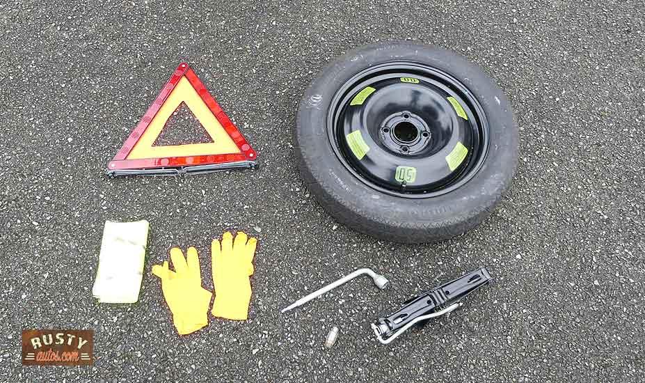 Wheel changing tools