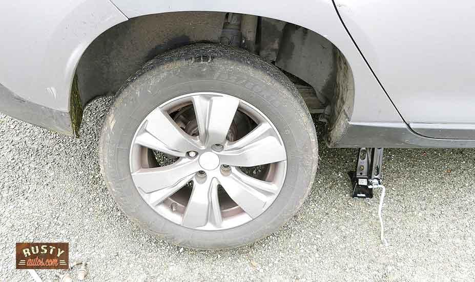Wheel loose